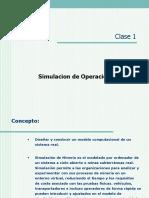 SIMULACION DE OPERACIONES