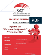 Informe 2 - Tendinitis de De Quervain - Montenegro Mechán.docx