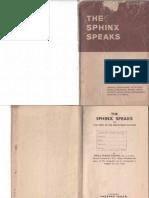 Sphinx Speaks