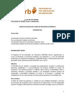 Edital Selecao MA 2019 Informativo v1