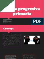 Afasia progresiva primaria