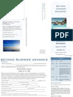 Beyond Summer Advance