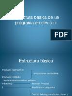 estructurabsicadeunprogramaendevc-140605195118-phpapp02