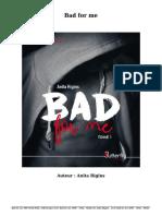 Télécharger Livre Gratuit Bad for Me (PDF - EPub - Mobi) Auteur Anita Rigins