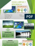 Tecnologías Limpias y Ecoeficiencia (1)