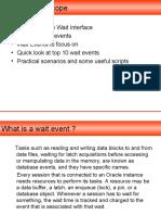 Common Wait Events