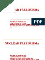 Nuclear Free Burma