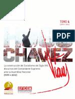 Tomo IV. Discursos Hugo Chávez