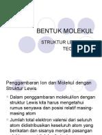 BENTUK MOLEKUL