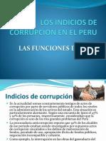 Los Indicios de Corrupcion en El Peru