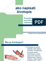 kako+napisati+Zivotopis