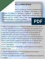Presentación Otdr y Fibra Optica