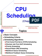 Chap6 CPU Scheduling
