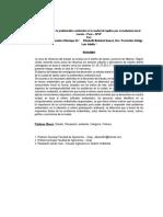 """""""Percepción de la problemática ambiental en la ciudad de Iquitos por el ciudadano local. Loreto – Perú – 2015"""" Cientififico Jorge Bardales - E. Bohaboth"""
