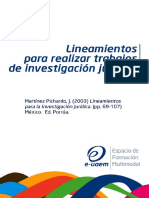 Martínez Pichardo, José. Lineamientos para realizar trabajos de investigación jurídica.pdf