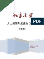 北大人力资源年度报告2013.pdf