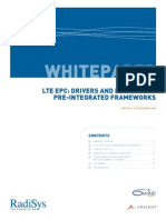 Lte Epc Drivers and Benefits of Pre Integrated Frameworks