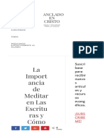 La Importancia de Meditar en Las Escrituras y Cómo Hacerlo.pdf