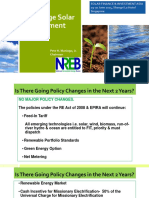 Policy to Encourage Solar Development (Philippines) - Pete H Maniego - NREB