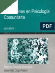 Alfaro Discusiones en Psicología Comunitaria