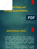 Nursing Management of Anti Fungal Drugs