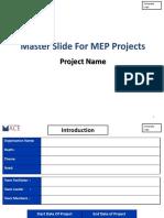 MEP Master SLide