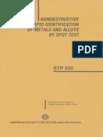 STP 550-1986