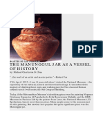 99244387 Manunggul Jar and the Early Practice of Burial in the Philippines