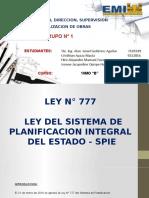 Presentacion Ley 777