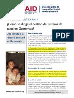 Rectoria de La Salud en Guatemala