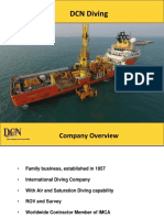 DCN Diving Technical Presentation Repair Gas Pipeline Java Sea