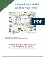 Socia Media is Bigger Than You Think
