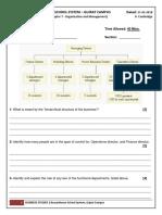 IX- Cambridge - Unit Asessment - Business- Chapter 7