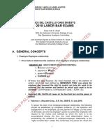 j. Del Castillo - Labor Law