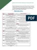 Programa Del II Congreso Internacional Autores en Busca de Autor (Definitivo)