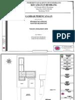 Gambar Rehab Gedung Kantor Kecamatan Rembang
