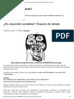 ¿Es Jesucristo Socialista__ Espacio de Debate _ El Guerrero Guaraní