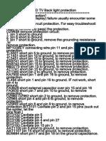 Manual de Servicio K LED43FHDRST2