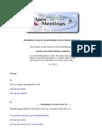 Installation OpenMeetings 3.3.0 on Ubuntu 16.04 LTS