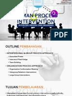 Human Process Intervention - Organizational Development