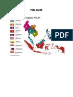 Peta Asean