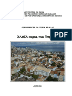 ARAÚJO, Jean Marcel Oliveira. Bahia. Negra, Mas Limpinha