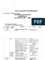 Raport de Activitate Consiliere Psihopedagogicac Cuciinic