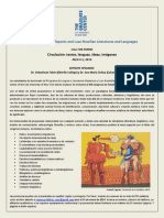 CUNNY Graduate Student Conference Call for Papers - Spanish