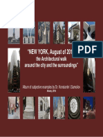 """""""NEW YORK, August of 2018"""
