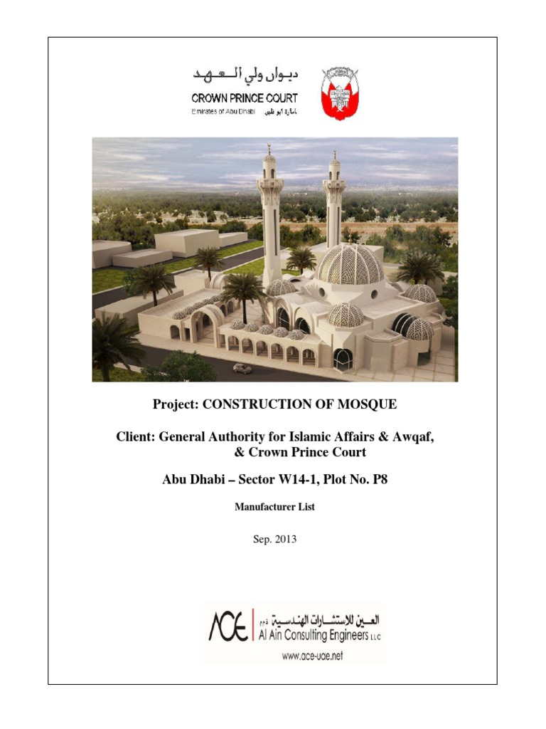 Material List | United Arab Emirates | Plumbing