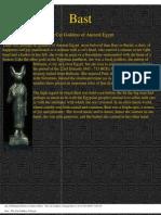 Bast - The Cat Goddess of Egypt