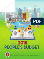 2018 Peoples Budget for Posting