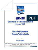 Manual Planilla de Sueldos 2018