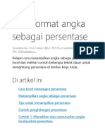 Tutorial Xl Persen